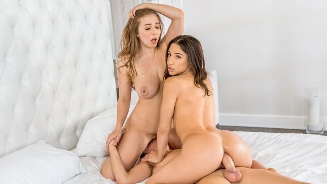 Abella Danger And Lena Paul Her Boyfriend Anal Sharing