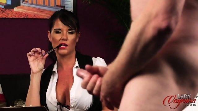 Latina big boob miltf angelique