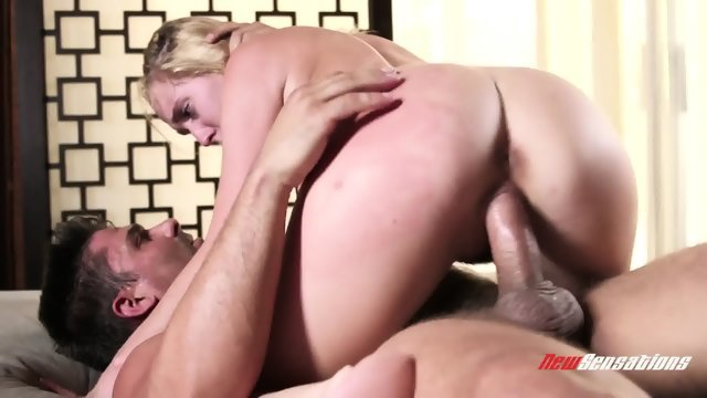 Blond devil quickly undressed and fucked