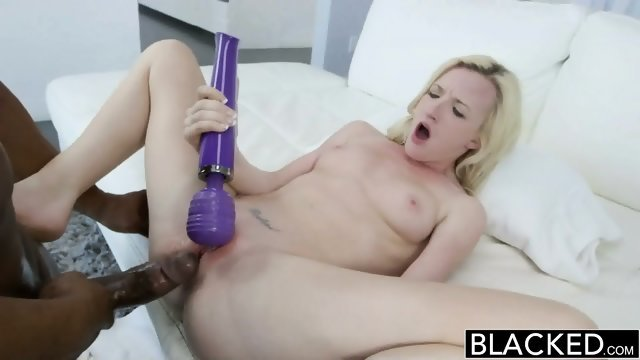 Cool black guy fucked blonde bitch