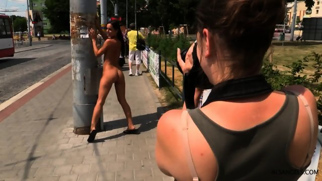 Walking naked on the streets