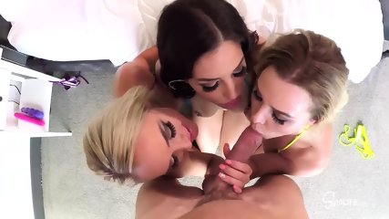 Hard Cock Johnny Sins For Three Whores